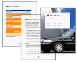 Business Proposal Software and Templates Transportation #6