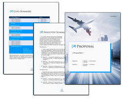 Business Proposal Software and Templates Transportation #8