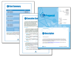 Business Proposal Software and Templates Web #1