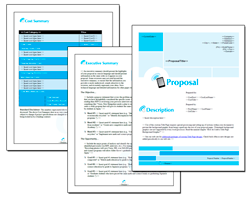 Business Proposal Software and Templates Wireless #3