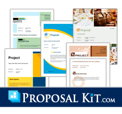 Proposal Kit for Windows, Macintosh and Linux